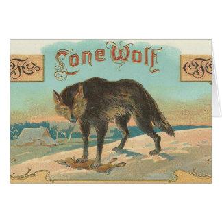 一匹狼 カード
