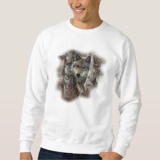 一匹狼 スウェットシャツ