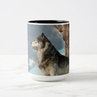 一匹狼 ツートーンマグカップ