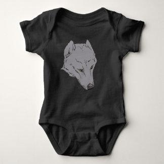 一匹狼 ベビーボディスーツ