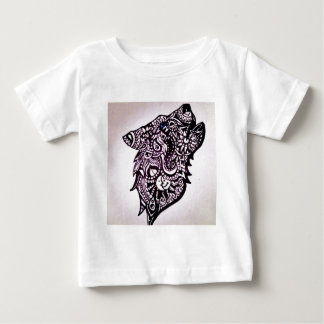 一匹狼 ベビーTシャツ