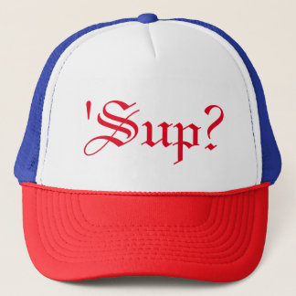 「一口」か。 カジュアルなスワッグのトラック運転手の帽子 キャップ
