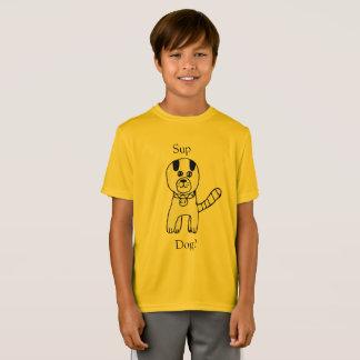一口、犬か。 クレアMarciano著すばらしい犬の作成 Tシャツ