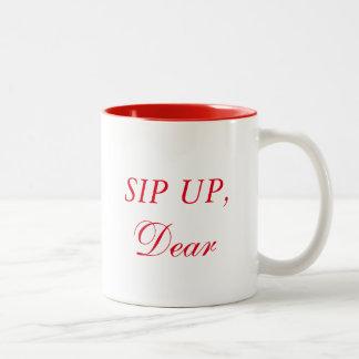一口、親愛 ツートーンマグカップ