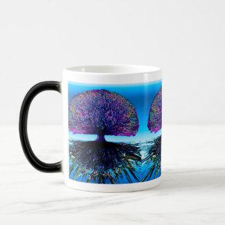 一定した変更および希望生命の樹 モーフィングマグカップ