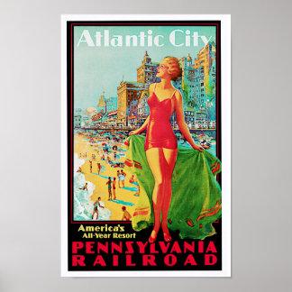一年中アトランティック・シティの~アメリカの運動場 ポスター