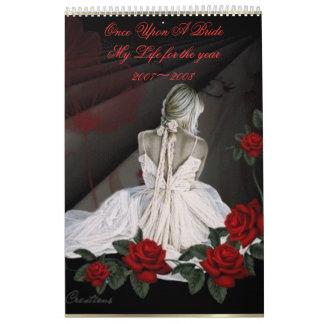 一度花嫁に私の生命のための… カレンダー