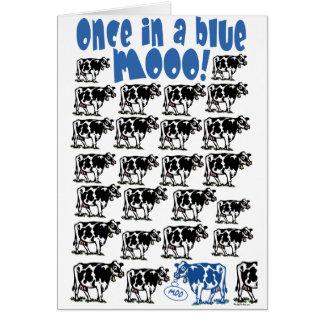 一度青いMooの月で カード