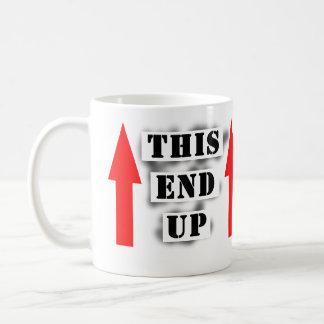 一方の端 コーヒーマグカップ