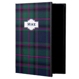 一族のたる製造人の格子縞のカスタムなiPadの空気2箱 Powis iPad Air 2 ケース