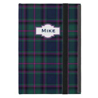 一族のたる製造人の格子縞のカスタムのiPad Miniケース iPad Mini ケース