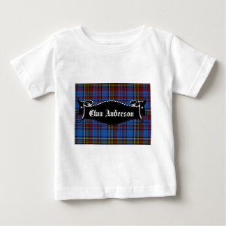 一族のアンダーソンの旗 ベビーTシャツ