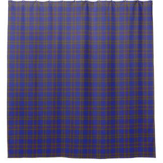 一族のエリオットエリオットのスコットランドの伝統のタータンチェック シャワーカーテン