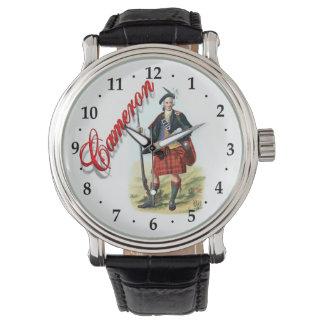 一族のカメロンのスコットランドの夢の腕時計 腕時計