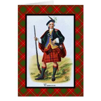 一族のカメロンのスコットランド人の夢 カード
