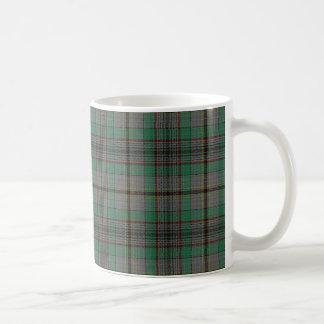 一族のクレイグのスコットランドのタータンチェック コーヒーマグカップ