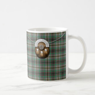 一族のクレイグのタータンチェックおよびSporran コーヒーマグカップ