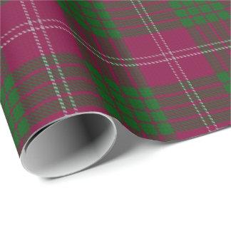 一族のクローフォードのスコットランド人のタータンチェック 包装紙