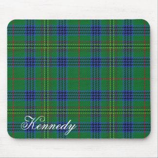 一族のケネディの威厳のあるなスコットランドのタータンチェック マウスパッド