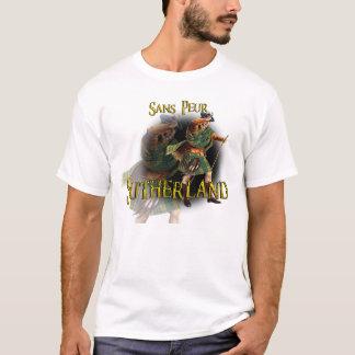 一族のサザランドの高地のゲームのワイシャツ Tシャツ