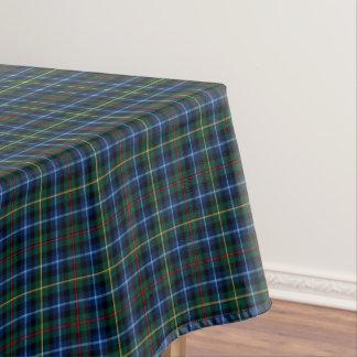 一族のスミスロイヤルブルーおよび緑のスコットランドのタータンチェック テーブルクロス