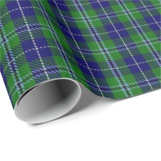 一族のダグラスのスコットランドのタータンチェック ラッピングペーパー