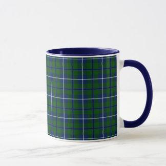一族のダグラスのタータンチェック マグカップ