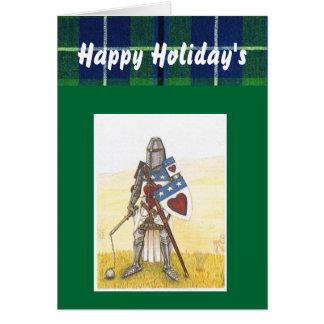 一族のダグラスのホリデーカード カード