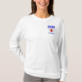 一族のダグラスの女性長いSleave Tシャツ