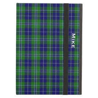一族のダグラスの格子縞のカスタムなiPadの空気箱 iPad Airケース