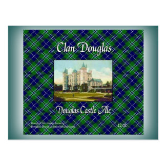 一族のダグラスダグラスの城のエール ポストカード