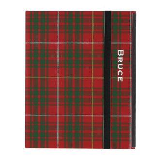 一族のブルースの格子縞のカスタムなiPadの場合 iPad ケース