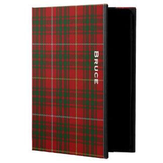 一族のブルースの格子縞のカスタムなiPadの空気2箱 Powis iPad Air 2 ケース