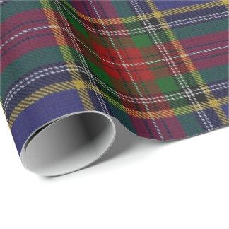 一族のマクベスのスコットランド人のタータンチェック 包装紙