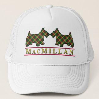 一族のマクミランタータンチェックのスコッチテリア犬 キャップ