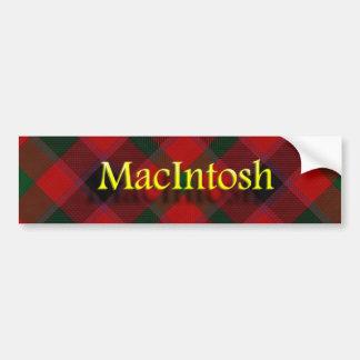 一族のマッキントッシュのスコットランド人 バンパーステッカー