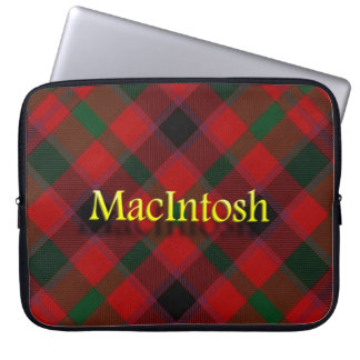 一族のマッキントッシュのスコットランド人 ラップトップスリーブ