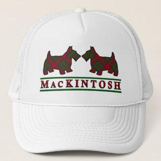 一族のマッキントッシュのタータンチェックのスコッチテリア犬 キャップ