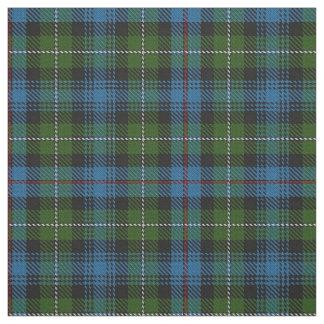一族のマッケンジーのスコットランドのタータンチェック格子縞の生地 ファブリック
