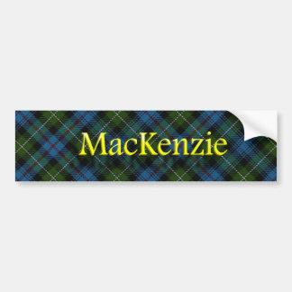 一族のマッケンジーのスコットランド人 バンパーステッカー