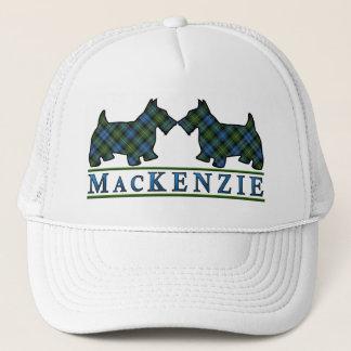 一族のマッケンジーのタータンチェックのスコッチテリア犬 キャップ