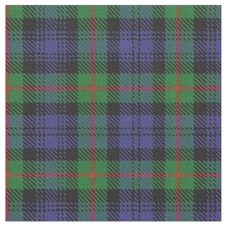 一族のマレーのスコットランドのタータンチェック格子縞の生地 ファブリック