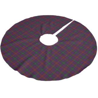 一族のモントゴメリーのスコットランドのタータンチェック ブラッシュドポリエステルツリースカート