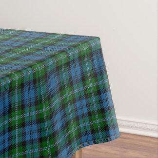一族のライオンのスコットランドのタータンチェック テーブルクロス