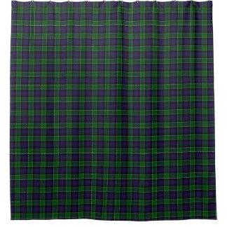 一族のレスリーのスコットランドの狩りのタータンチェック シャワーカーテン