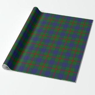 一族のAgnewのスコットランド人のタータンチェック ラッピングペーパー