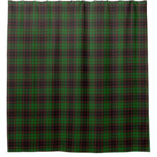 一族のBuchanのスコットランドの伝統のタータンチェック シャワーカーテン