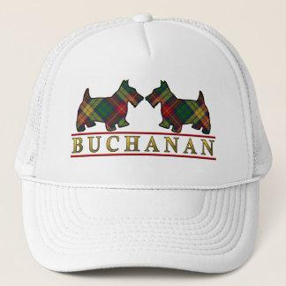 一族のBuchananのタータンチェックのスコッチテリア犬 キャップ