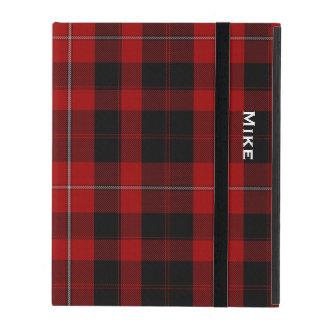 一族のCunninghamの格子縞のカスタムなiPadの場合 iPad ケース