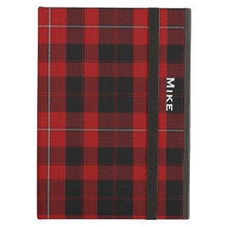 一族のCunninghamの格子縞のカスタムなiPadの空気箱 iPad Airケース